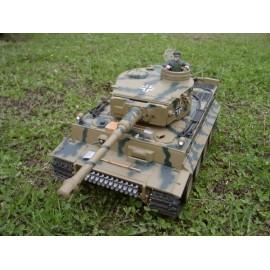 Czołg German Tiger PRO z Dymem Camo
