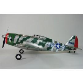 Sterowany Myśliwiec P-47 Thunderbolt Bezszczotkowy