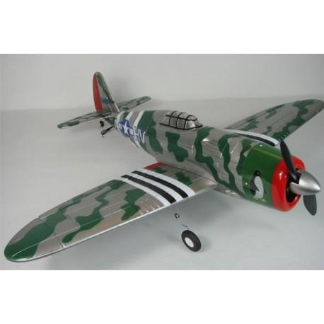 Samolot Rc P-47 Thunderbolt Bezszczotkowy ARF