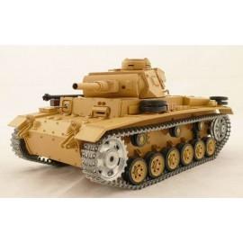 Czołg Rc German Tauch Panzer III ausf.H Metal