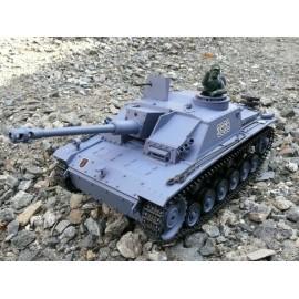 Czołg Rc Sturmgeschutz III z System Walki IR