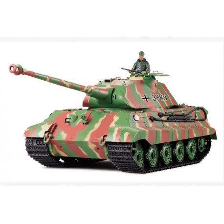 Czołg Sterowany German King Tiger Porsche Metal