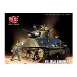 Czołg Sterowany U.S. M4A3 Sherman Metal