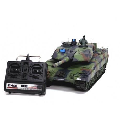 Czołg Rc Leopard 2A6 2,4GHz 1:16 Camo
