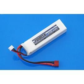 Pakiet LiPo 1750 mAh 11,1V 20C Redox ASG