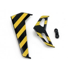 Żółte Stateczniki Ogona Do Helikoptera Rc Syma F1