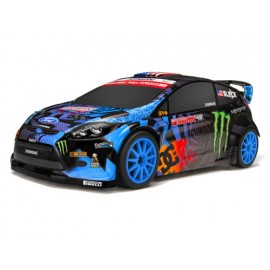 Auto rc Micro RS4 Ford Fiesta Ken Block 2013 GRC HPI 2,4Ghz