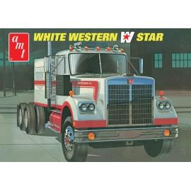 Model Do Sklejania - Ciągnik Siodłowy White Western Star