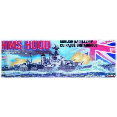 Model Do Sklejania - Okręt wojenny HMS Hood