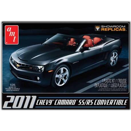 Plastikowy Model Do Sklejania AMT - 2011 Chevy Camaro Convertible