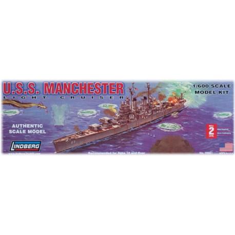 Model Do Sklejania Lekki Krążownik USS Manchester