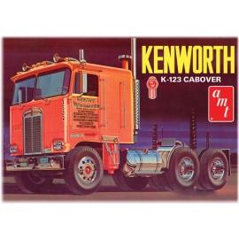 Model Ciągnika Siodłowego Do Sklejania Kenworth K123 Cabover