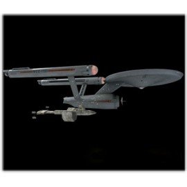 Model Plastikowy Star Trek TOS USS Enterprise Space Seed Polar Lights (USA)