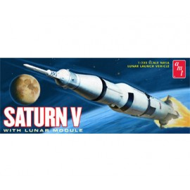 Model do sklejania Rakieta Saturn V AMT