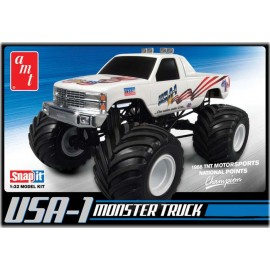 Model Plastikowy Chevy Monster Truck AMT 4x4 1:32