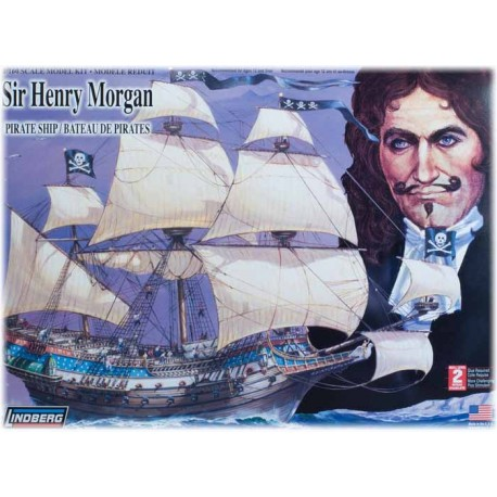 Model Plastikowy Statek piracki Sir Henry Morgan Lindberg