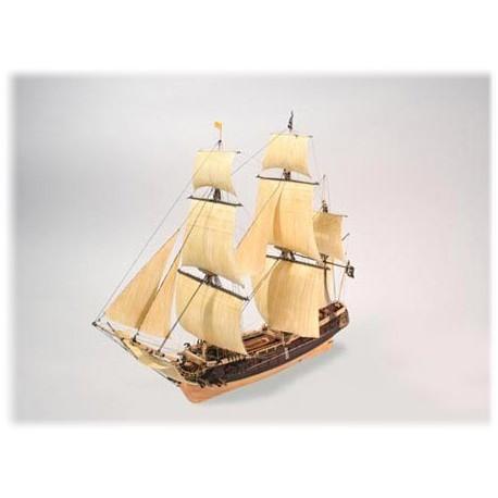 Model Do Sklejania Statek piracki Jolly Roger Lindberg