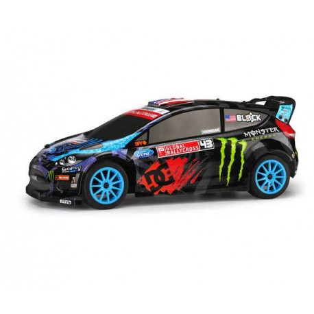 Auto rc Ken Block WR8 FLUX with Ford Fiesta H.F.H.V. Body HPI 1:8 2.4GHz