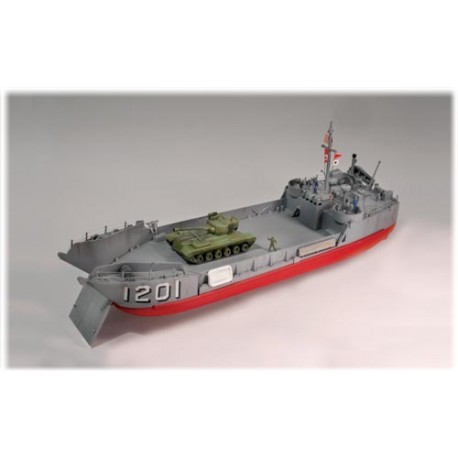 Statek Do Sklejania Okręt desantowy D-DAY Invasion L.C.T. Lindberg