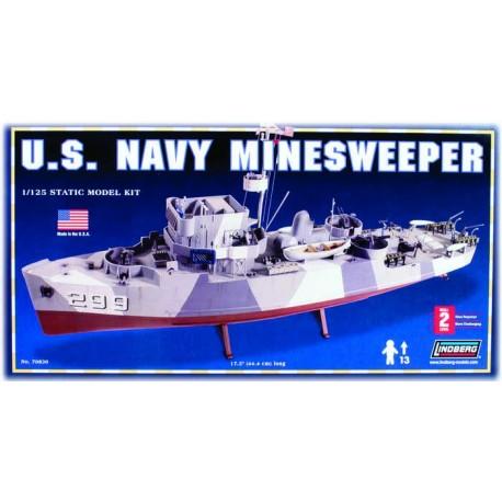 Model Do Sklejania Okręt Minesweeper Lindberg
