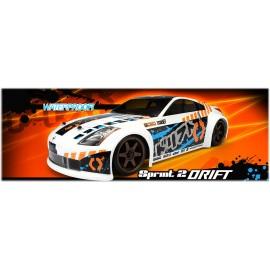 Sterowane Auto Sprint 2 Drift Nissan 350Z HPI RTR 2,4GHz