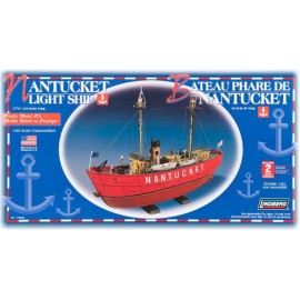 Model plastikowy Nantucket Light Ship Lindberg