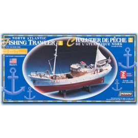 Model plastikowy Łódź North Atlantic Fishing Trawler Lindberg