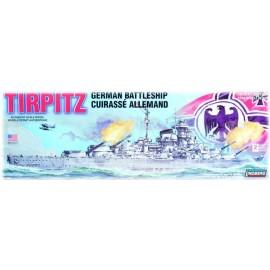 Model Plastikowy Okręt wojenny Tirpitz Lindberg