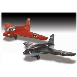 Model Do Sklejania Odrzutowiec Messerschmitt ME-163 Komet Lindberg