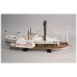 Plastikowy Model Statek parowy Robert E Lee Lindberg