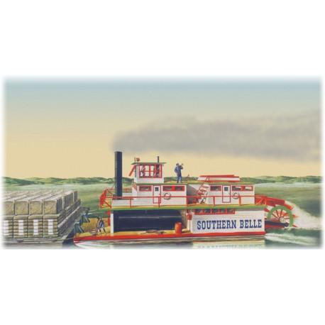 Model Do Sklejania Southern Bell Paddle Wheel Steamship Lindberg