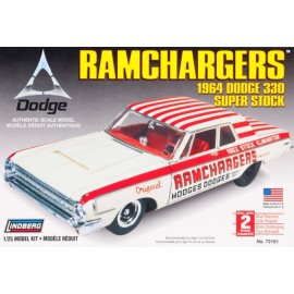 Model do Sklejania Ramchargers 1964 Dodge Lindberg