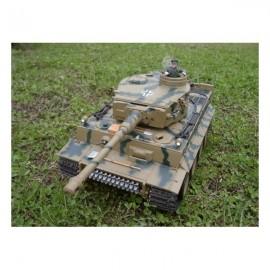 Sterowany Czołg German Tiger I Metal Stal 1:16