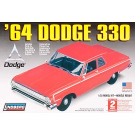 Model plastikowy Auto 64 Dodge 330 Lindberg