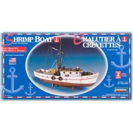 Model plastikowy Łódź Shrimp Boat Lindberg