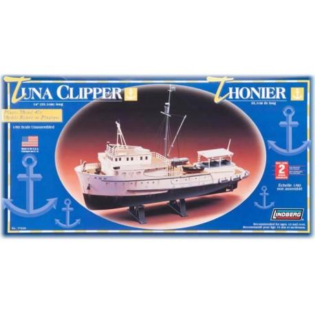 Model plastikowy Łódź Tuna Clipper Lindberg