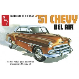 Model do Sklejania Auto 1951 Chevy Bel Air AMT