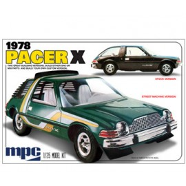 Auto plastikowe AMC PACER X MPC