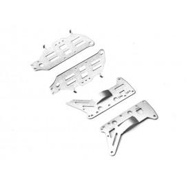 9098-09 Aluminiowe Części Obudowy do Helikoptera Rc 9098