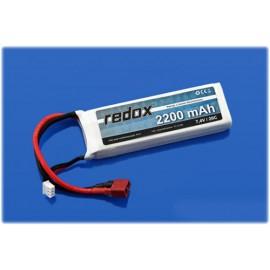 Akumulator Redox LiPo 7,4V 2200mAh 20c