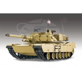 Czołg RC U.S. M1A2 ABRAMS DESERT 2,4GHz 1:16 Stal