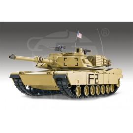 Czołg Rc ABRAMS U.S. M1A2 Metal 2,4GHz 1:16
