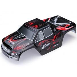 Kabina Do Samochodu Rc Wl Toys A979 Czarno-czerwona
