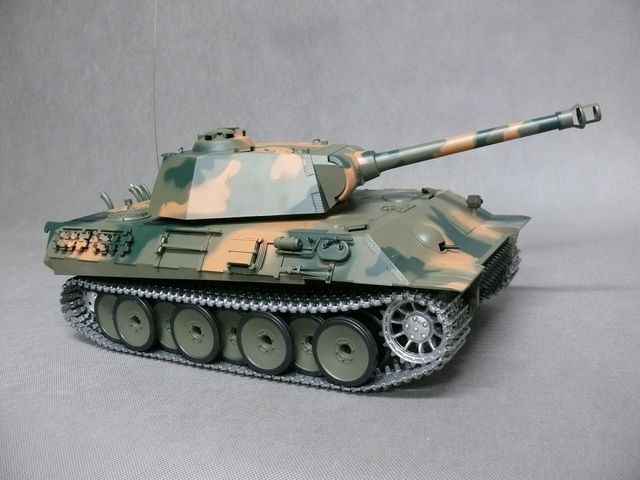 czołg rc metal Panther