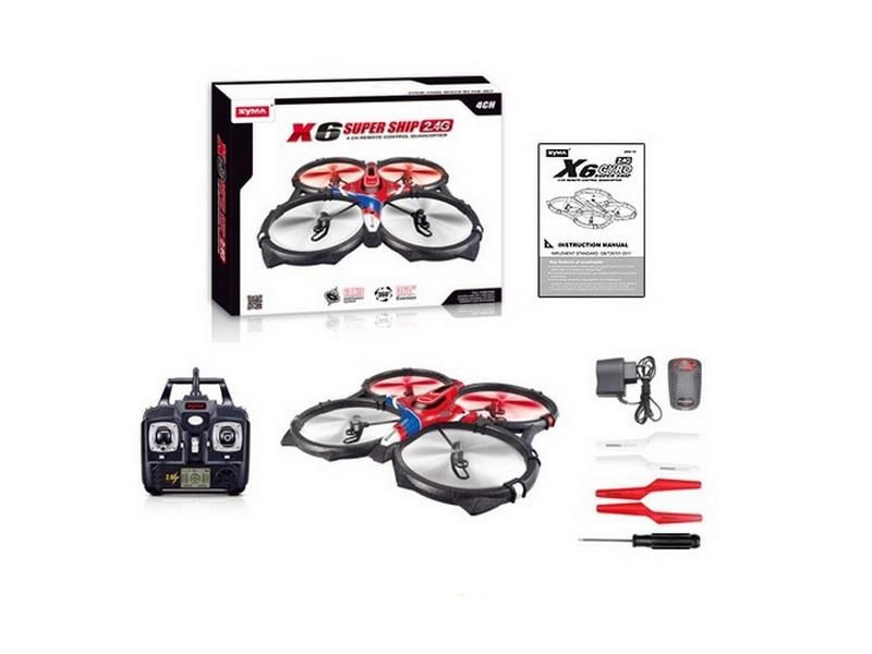 Quadrocopter x6 syma