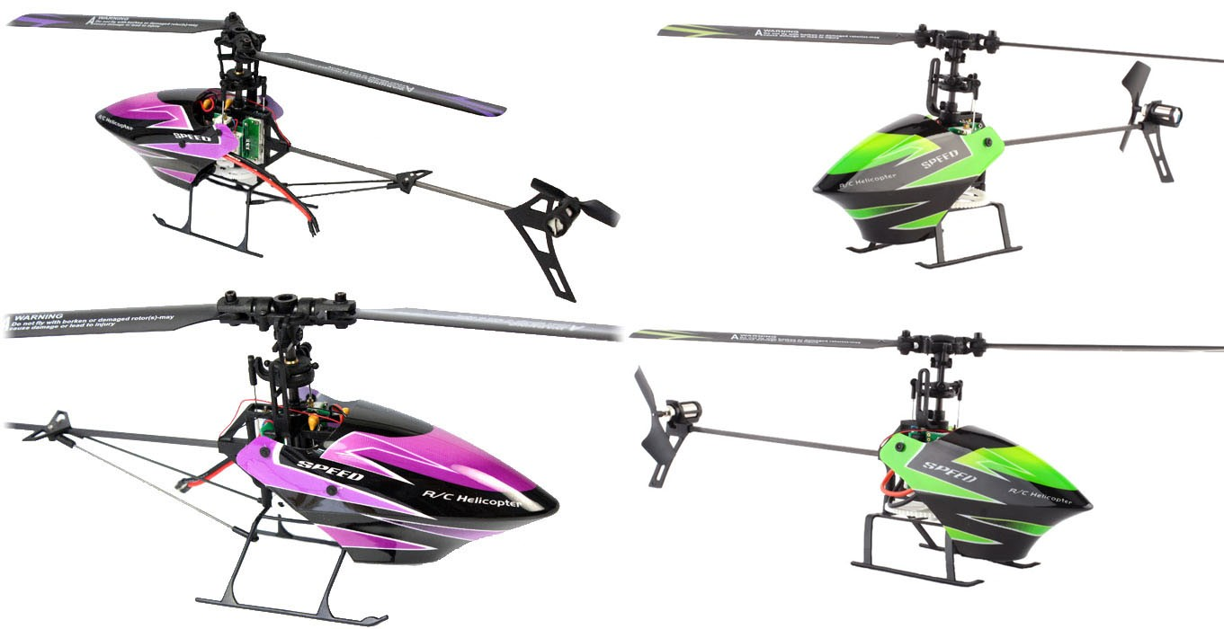 4ch Helikopter WLTOYS V955 2,4GHz LCD