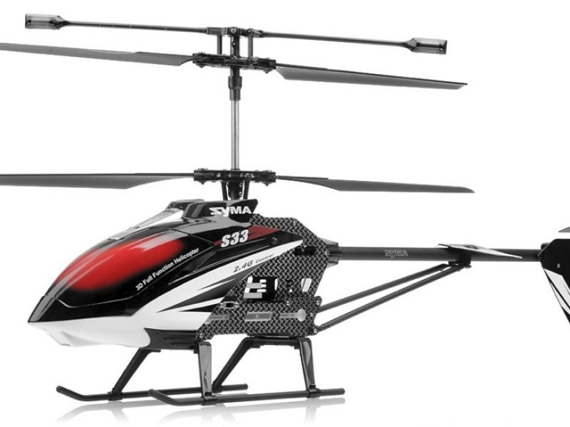 Helikopter 3ch Syma S33 Gyro LCD 2,4GHz