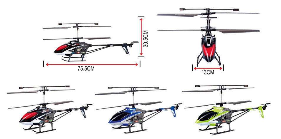 Helikopter 3ch S33 2,4GHz