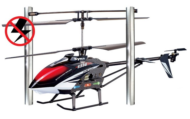 Helikopter Syma S33 Gyro LCD 2,4GHz