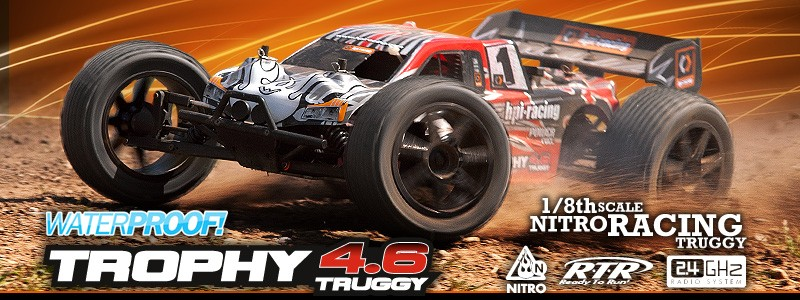 Trophy 4.6 Truggy 1:8  HPI